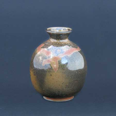 Shino Glazed Small Vase